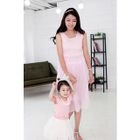 Maternity Sleeveless Tulle Dress 1596