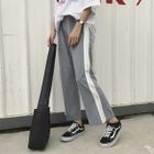 Wide-Leg Two-Tone Pants 1596