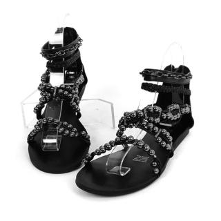 Picture of CLICK Beaded Strap Sandals 1022726172 (Sandals, CLICK Shoes, Korea Shoes, Womens Shoes, Womens Sandals)