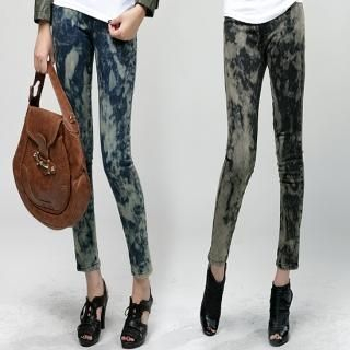 Buy Daily Pink Washed Skinny Pants 1021385460
