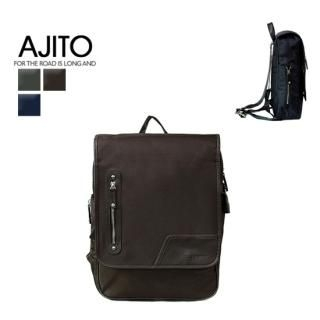 Ajito Faux Leather Trim Backpack