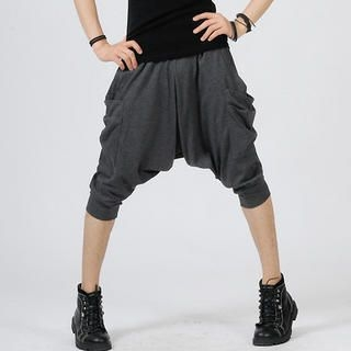 Picture of deepstyle Cropped Harem Pants 1023039976 (deepstyle, Mens Pants, Korea)