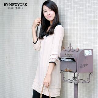 Buy BY NewYork 3/4 Sleeve Layered Dress 1023017473