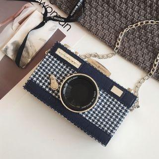 Camera Shape Crossbody Bag