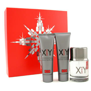 Buy Hugo Boss – Hugo XY Coffret: Eau De Toilette Spray 60ml/2oz+ After Shave Balm 50g/1.7oz + Shower Gel 50g/1.7oz 3pcs