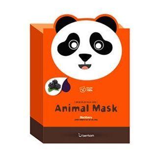 Image of Berrisom - Animal Mask Set (10pcs) Panda 10pcs