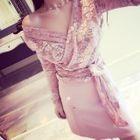 Tie-Waist Long-Sleeve Lace Top 1596