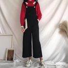 Wide Leg Cropped Jumper Pants 1596