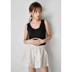 Drawcord Lace Shorts 1596