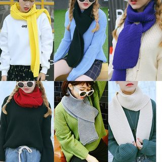 Ribbed Scarf 1048507368