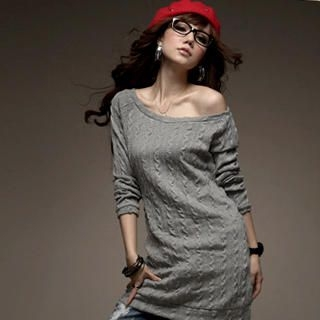 Buy I'Miusa Cable-Knit Sweater Dress 1021784992