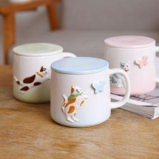 Cat Ceramic Cup 1056536538