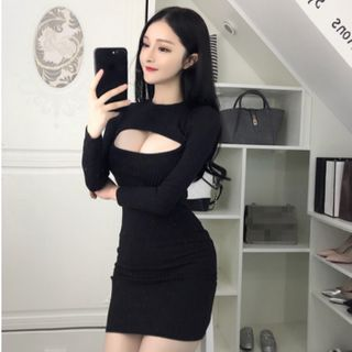 Long-sleeve | Dress | Mini