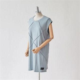 Round-Neck Sleeveless Dress 1050826552
