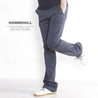 Buy HOMMEHILL Boot-Cut Cotton Pants 1022788791