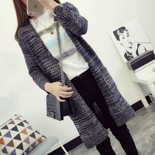 melange-long-cardigan
