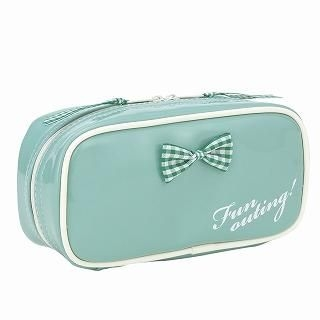 Buy ROOTOTE Bow Cosmetic Case [AVION DE PAPIER - Gloss-B] Mint Green – One Size 1022777262