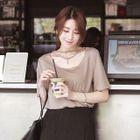 Short-Sleeve Cutout T-Shirt 1596