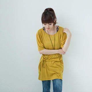 Picture of LULUS Tie-Waist T-Shirt Dress 1022873423 (LULUS Dresses, Womens Dresses, Taiwan Dresses, T-Shirt Dresses)