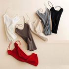 Ribbed Knit Camisole Top 1596