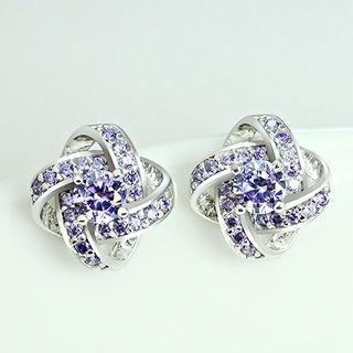 Clover 925Sterling Silver Earrings