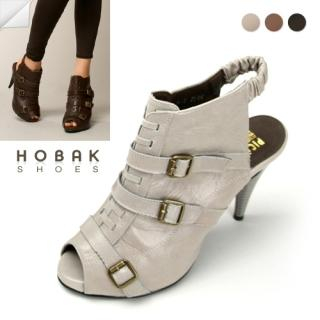Buy HOBAK girls Genuine Leather Open-Toe Slingbacks 1022002872