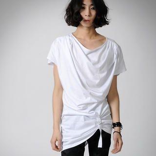 Buy deepstyle Drape-Front Tee Shirt 1022553070