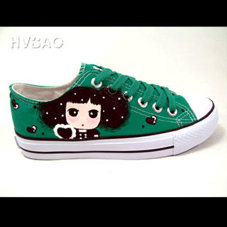Picture of HVBAO  Simply Adorable  Sneakers Green 1020608901 (Sneakers, HVBAO Shoes, Taiwan Shoes, Womens Shoes, Womens Sneakers)