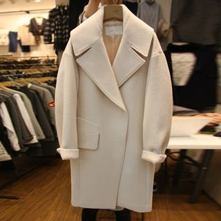 Notch Lapel Coat 1063139608