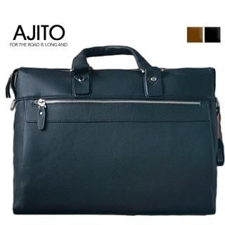 Picture of AJITO Faux-Leather Briefcase 1023042980 (AJITO, Briefcases, Korea Bags, Mens Bags, Mens Briefcases)