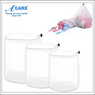 Image of Drawstring Mesh Laundry Bag