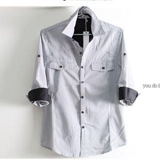Picture of SERUSH Check Shirt 1022556196 (SERUSH, Mens Tees, Taiwan)