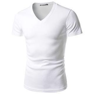 Short-Sleeve V-Neck T-Shirt 1050851548