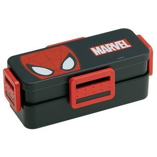 Spider-Man Face 4 Lock 2 Layer Lunch Box 1059818688