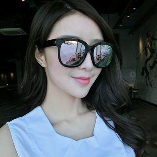 Retro Polarized Mirrored Sunglasses 1062297986