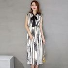 Striped Maxi Dress 1596