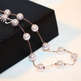 Faux Pearl Necklace 1064344982