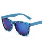 Square Sunglasses Type 1 - Bright Black Frame  Dark Gray Lens - One Size от YesStyle.com INT