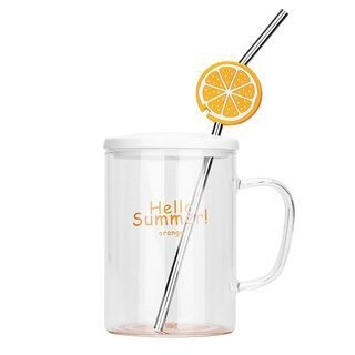Drinking Cup with Straw 1066630270