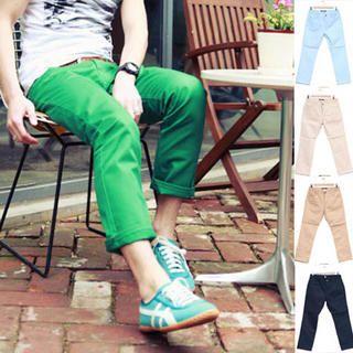 Buy SLOWBABA Cotton Pants 1022541558