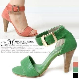 Picture of MICHEL PARA COLLECTION Genuine Leather Sandals 1022753164 (Sandals, MICHEL PARA COLLECTION Shoes, Korea Shoes, Womens Shoes, Womens Sandals)