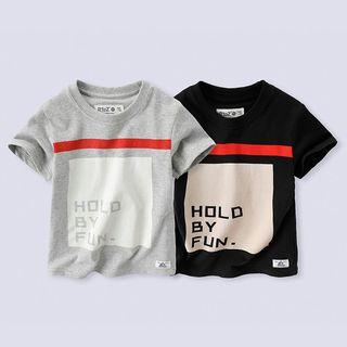 Short-sleeve   T-Shirt   Print   Kid
