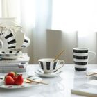 Striped / Dotted Plate / Cup 1596