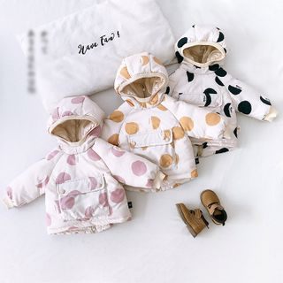 Image of Kids Dotted Padded Coat