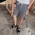 Drawstring Striped Shorts 1596