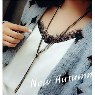 Knotted Chain Necklace 1055427147