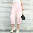 Ribbed Wide-Leg Pants 1596