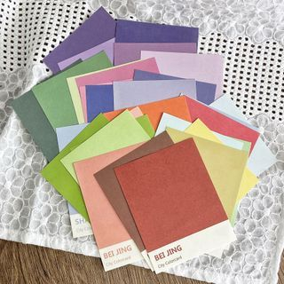 Image of Color City Name Print Diary Background Decoration Paper