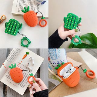 Image of Cactus & Carrot AirPods 1/2/pro Earphone Case Cover
