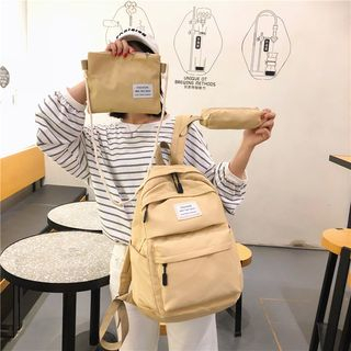 Image of Set: Lightweight Zip Backpack + Pouch